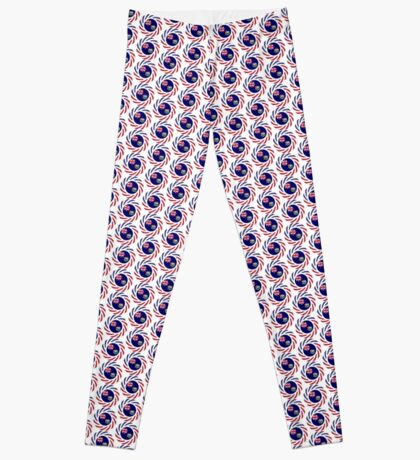 Saint Helena American Multinational Patriot Flag Series Leggings