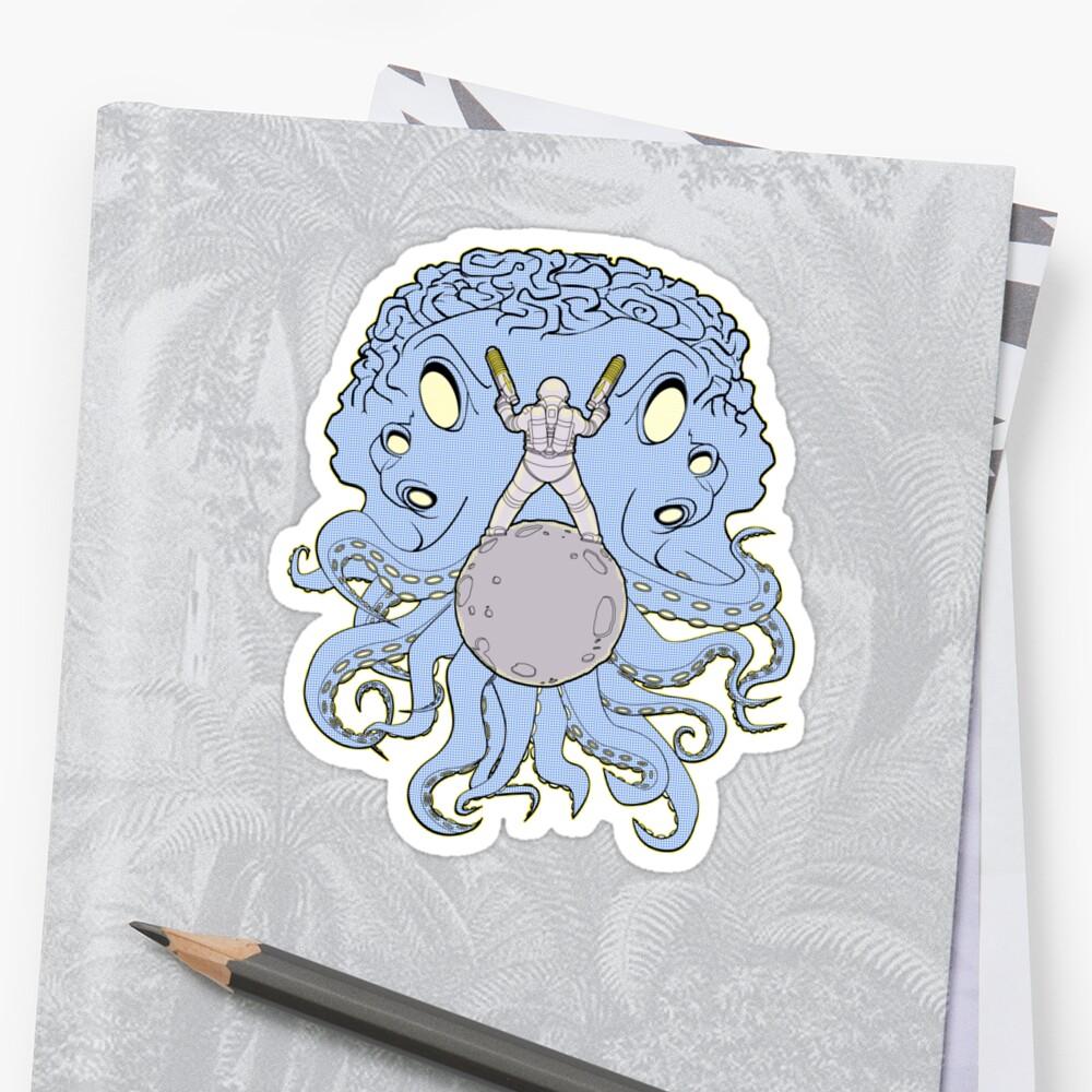 Space Squid Showdown by dunbar1087