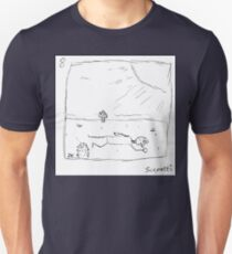 Ted is dropped into unknown territory Unisex T-Shirt