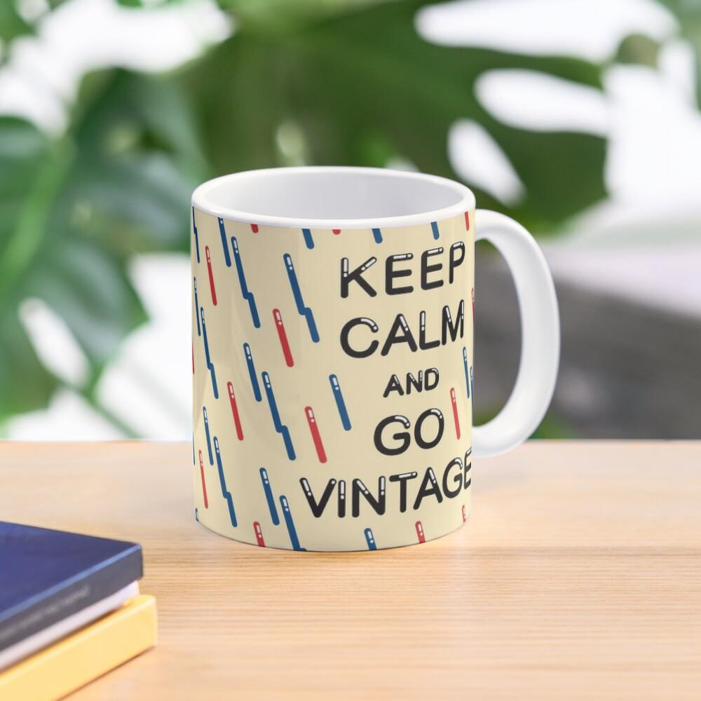 KEEP CALM AND GO VINTAGE Mug