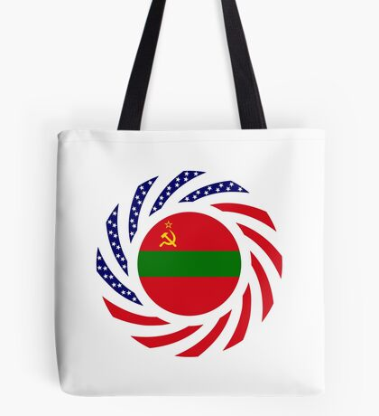 Transnistrian American Multinational Patriot Flag Series Tote Bag