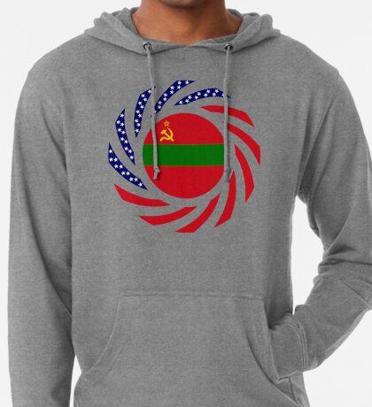 Transnistrian American Multinational Patriot Flag Series Lightweight Hoodie