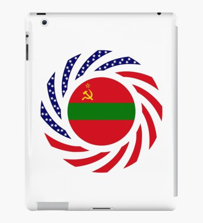 Transnistrian American Multinational Patriot Flag Series iPad Case/Skin