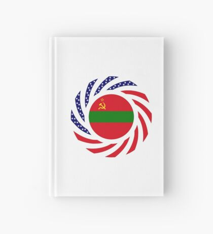 Transnistrian American Multinational Patriot Flag Series Hardcover Journal