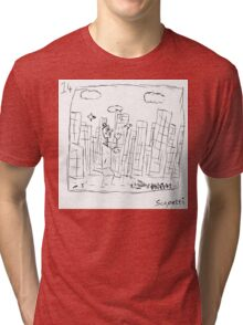 The city is not as Ted remembers Tri-blend T-Shirt