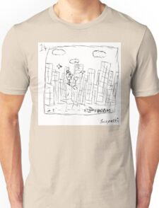 The city is not as Ted remembers Unisex T-Shirt