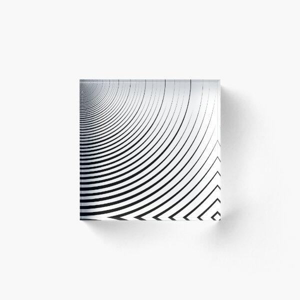 #Design, #abstract, #pattern, #illustration, psychedelic, vortex, modern, art, decoration Acrylic Block