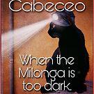 Milonga Cat - When the Milonga is Too Dark by infinitetango