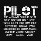 Pilot alphabet by PrHa