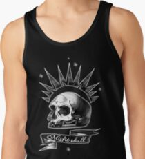 Misfit Skull Black Tank Top