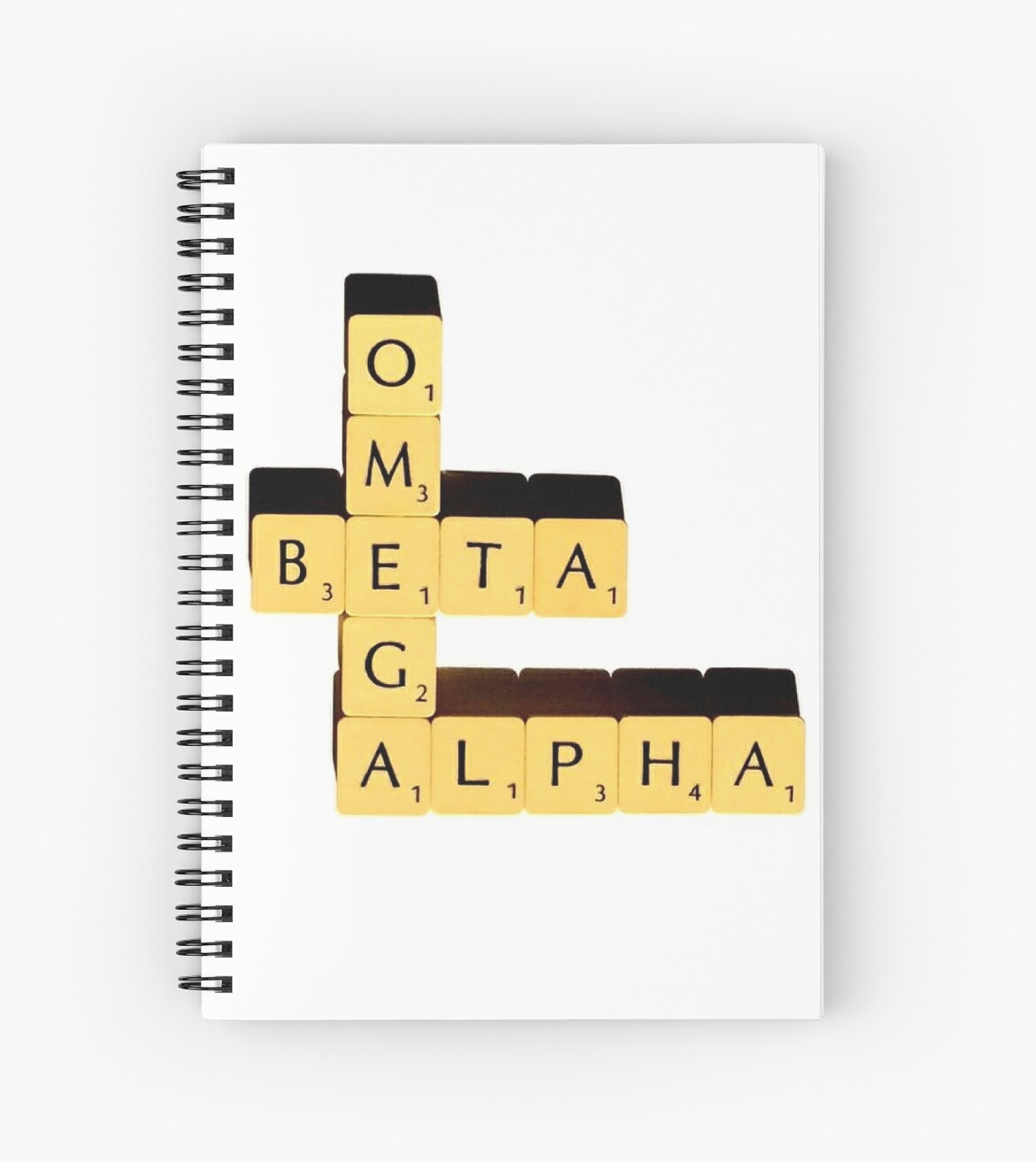 Alpha Beta Omega   Scrabble by mumford-and-bum