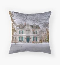 Carriage and House Throw Pillow