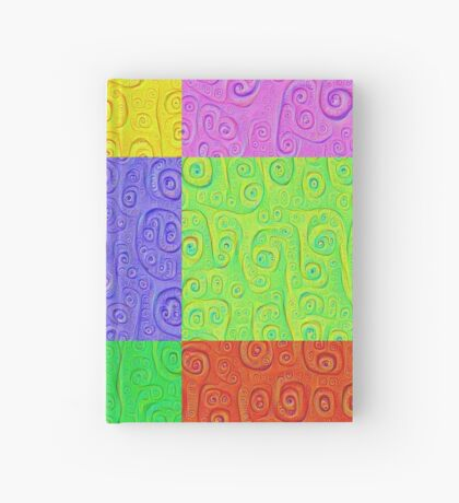 Deep Dreaming of a Color World 2K 2 Hardcover Journal