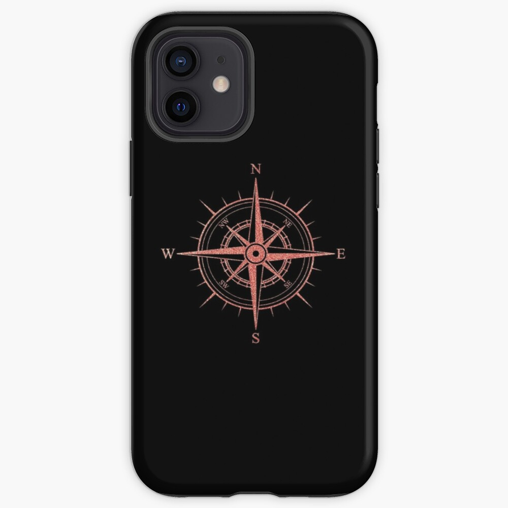 Rose Winds Compass Symbol iPhone Case & Cover