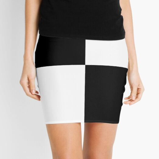 Quadrants  Mini Skirt
