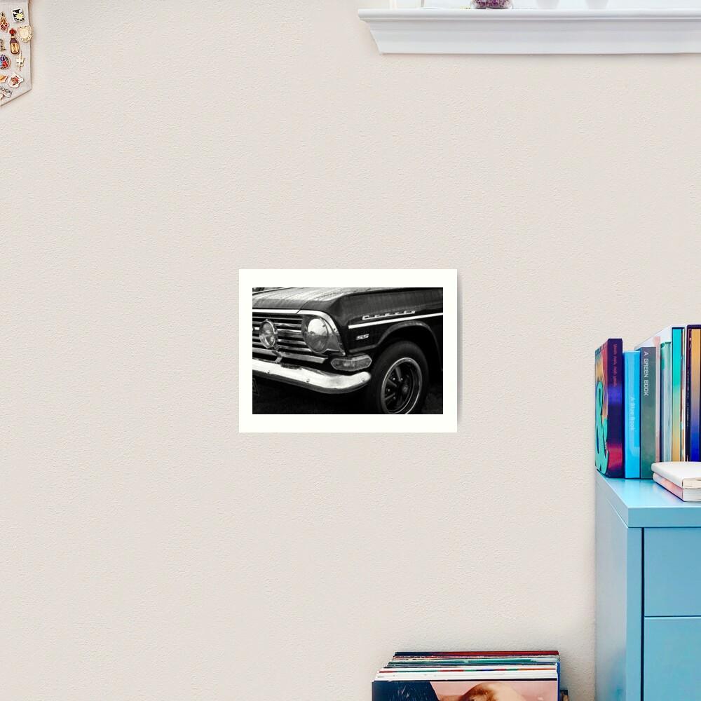 Classic Vintage Vauxhall Cresta Motor Car Art Print
