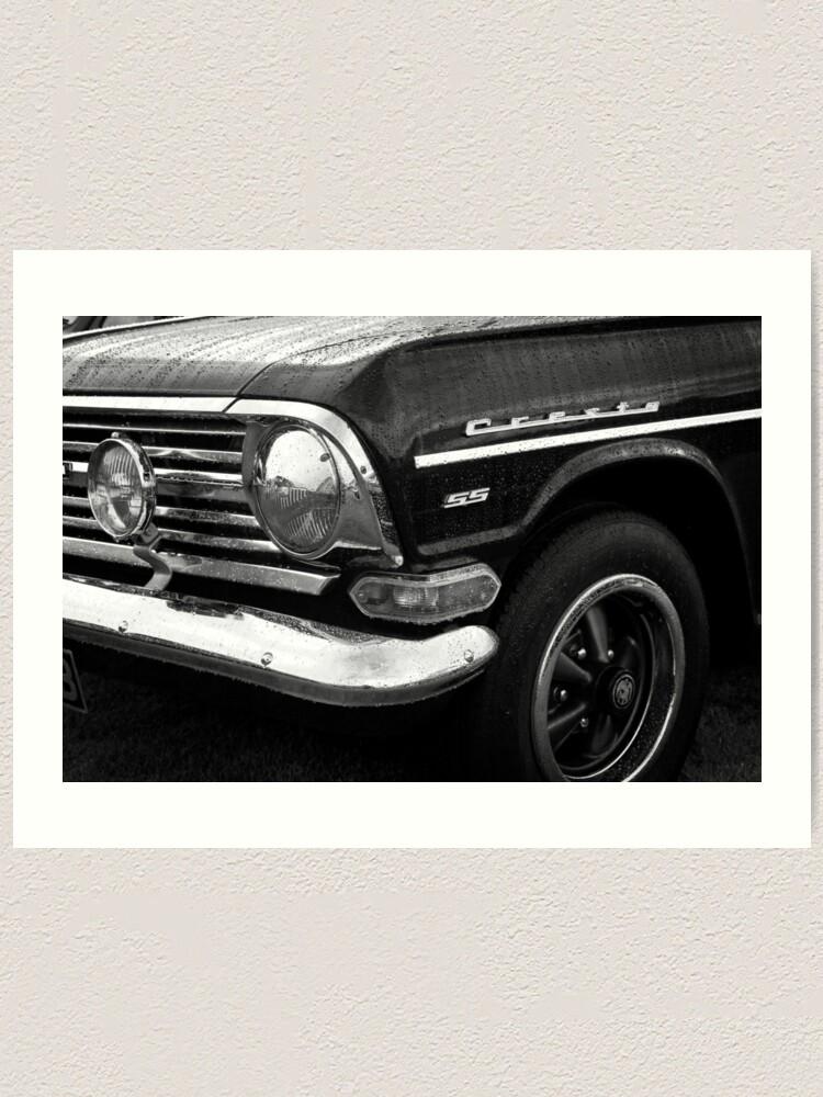 Alternate view of Classic Vintage Vauxhall Cresta Motor Car Art Print