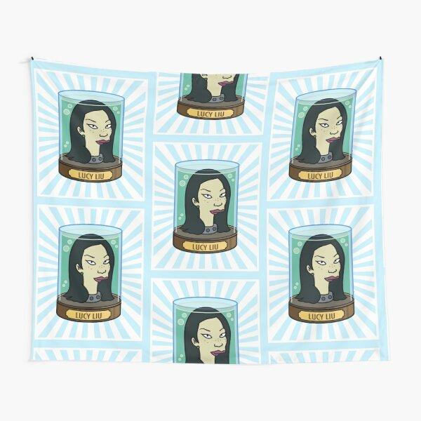 Lucy Liu Futurama Tapestry