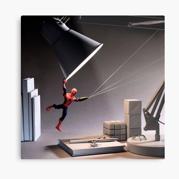 Superhero With Limb Difference Metal Print