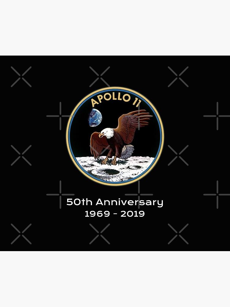 Apollo 11 NASA 50th Anniversary Moon Landing  by jutulen