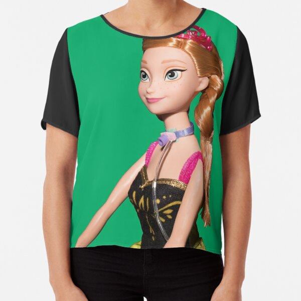 Princess Doll with Trach Tube Chiffon Top