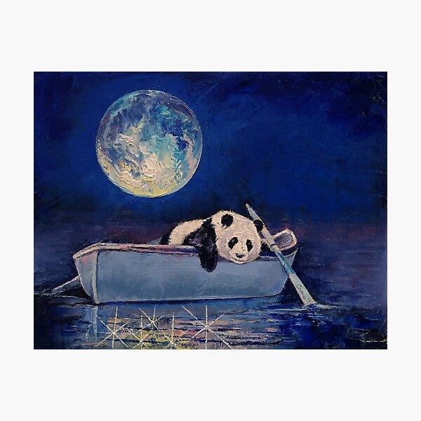 Lune bleue Impression photo