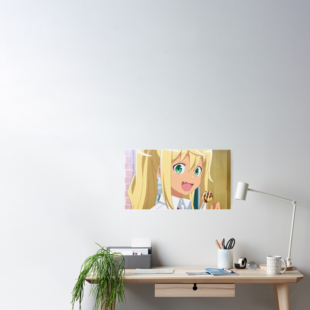 How Heavy Are The Dumbbells You Lift Sakura Hibiki Poster By