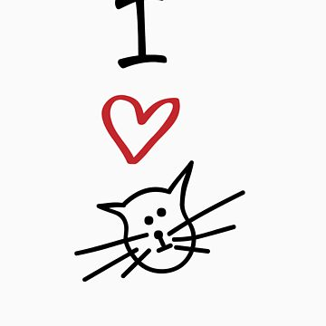 I Love Cats by designgroupies
