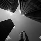 Skyscrapers in Tokyo by Jens Roesner