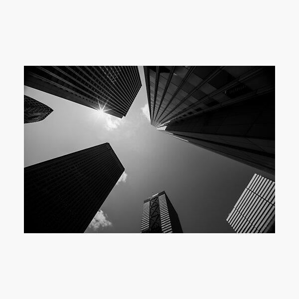 Skyscrapers in Tokyo Photographic Print