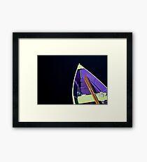 Boat in Lunenburg - Nova Scotia Framed Print