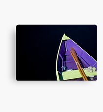 Boat in Lunenburg - Nova Scotia Canvas Print