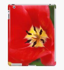Red Tulip Blossom iPad Case/Skin