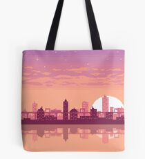 Sunset on the City Tote Bag