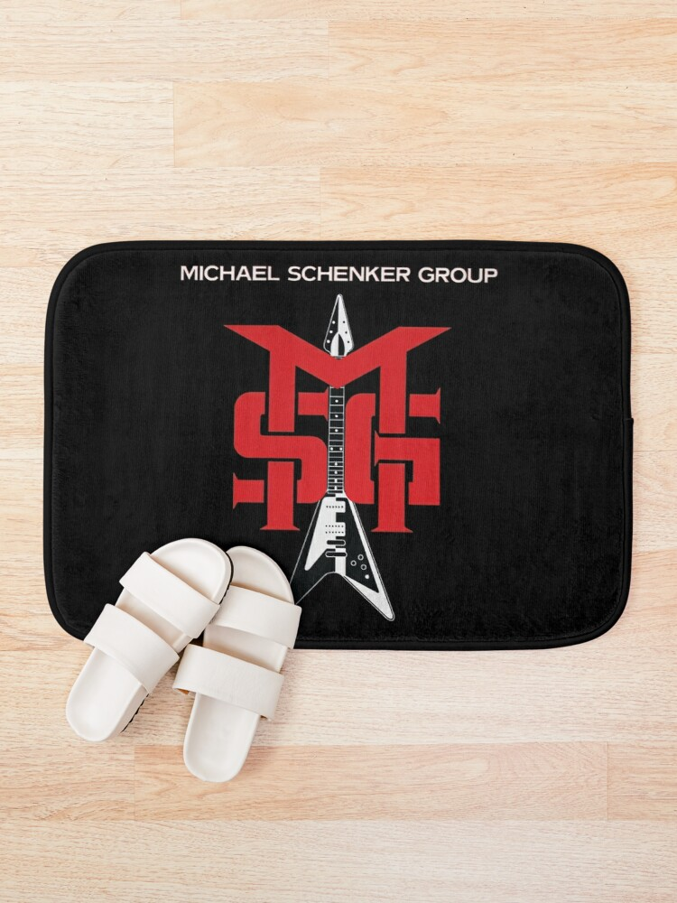 Alternate view of Michael Schenker Group Bath Mat