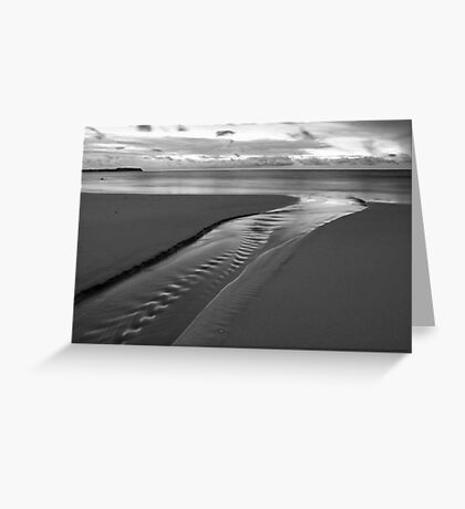 Stream of Silver Greeting Card
