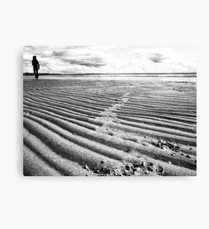 Lonely Beach (near geelong) Canvas Print
