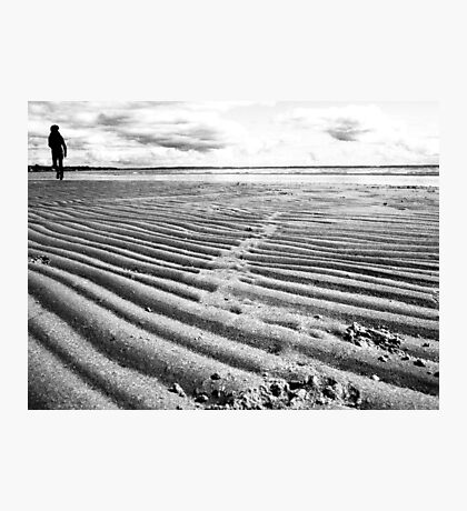 Lonely Beach (near geelong) Photographic Print