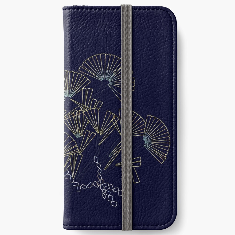 Licmophora - naive diatoms iPhone Wallet