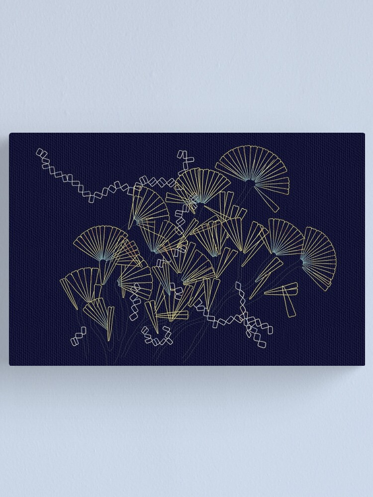 Alternate view of Licmophora - naive diatoms Canvas Print