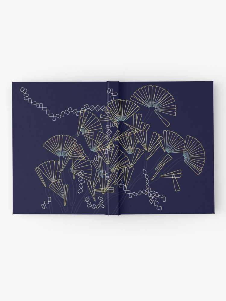Alternate view of Licmophora - a naive diatom Hardcover Journal