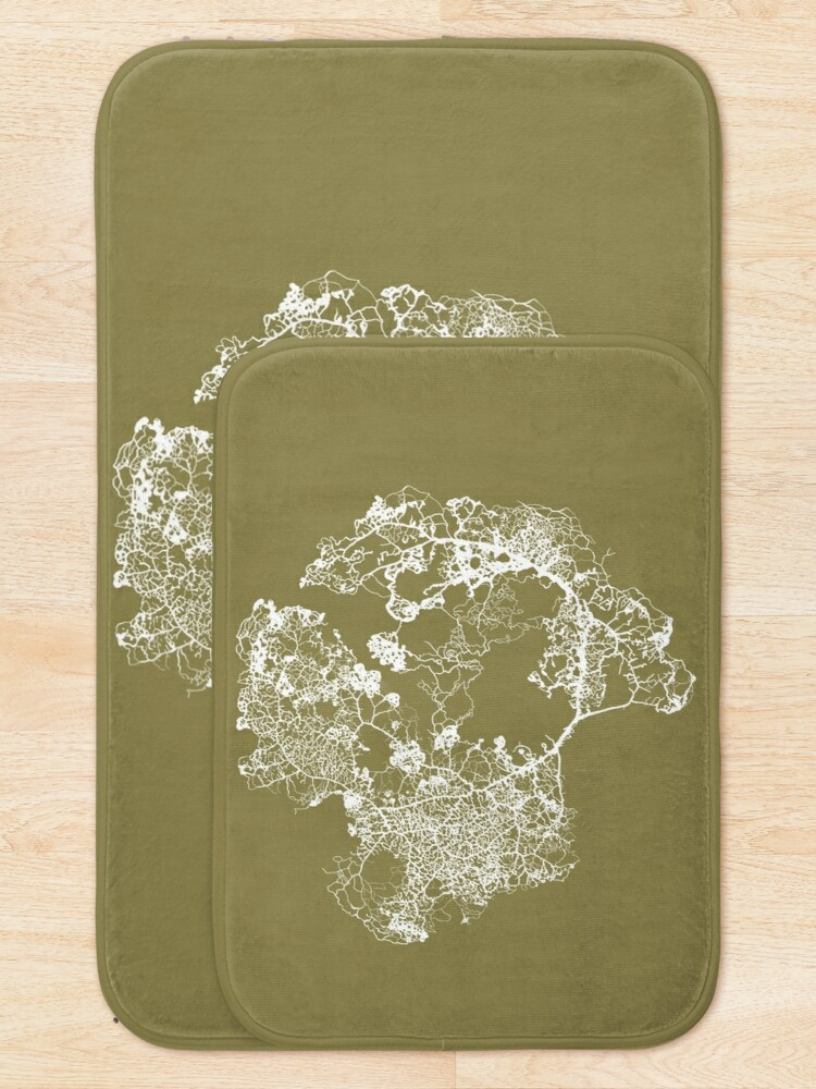 Alternate view of Physarum Polycephalum Bath Mat