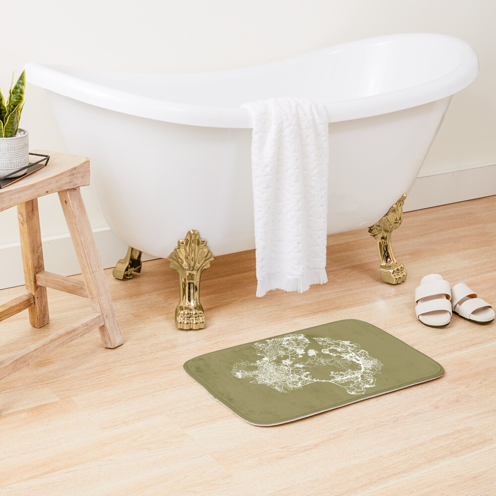 Physarum Polycephalum Bath Mat