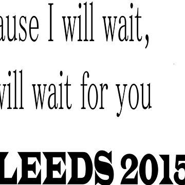 Mumford and Sons inspired design LEEDS 2015 by JackDee55