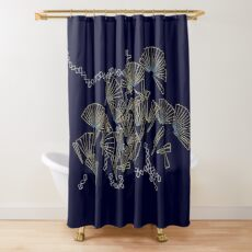Licmophora - naive diatoms Shower Curtain
