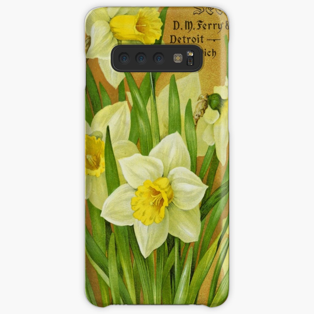 Vintage Daffodils Case & Skin for Samsung Galaxy