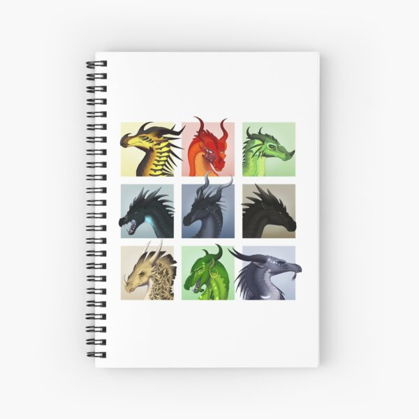 Wings of Fire - Bad Guys Spiral Notebook