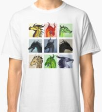 Wings of Fire - Bad Guys Classic T-Shirt