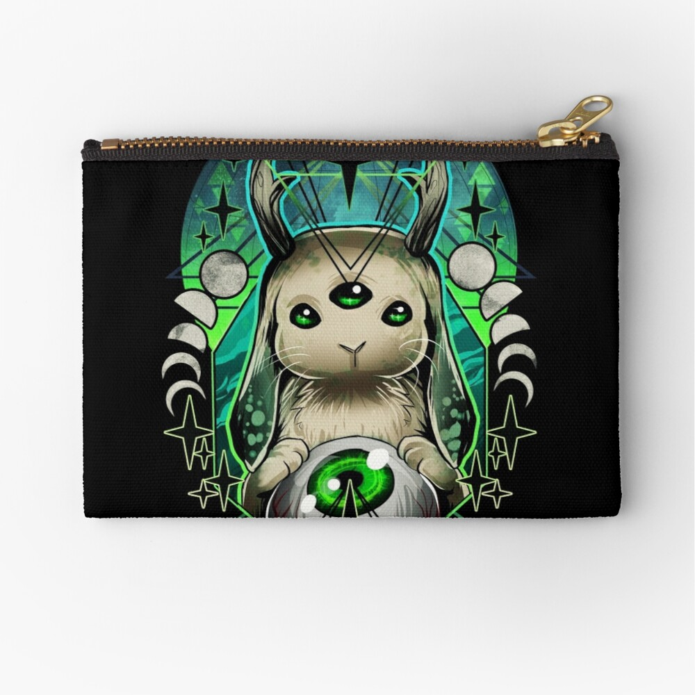 Space Bunny  Zipper Pouch