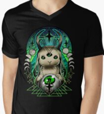 Space Bunny  Men's V-Neck T-Shirt